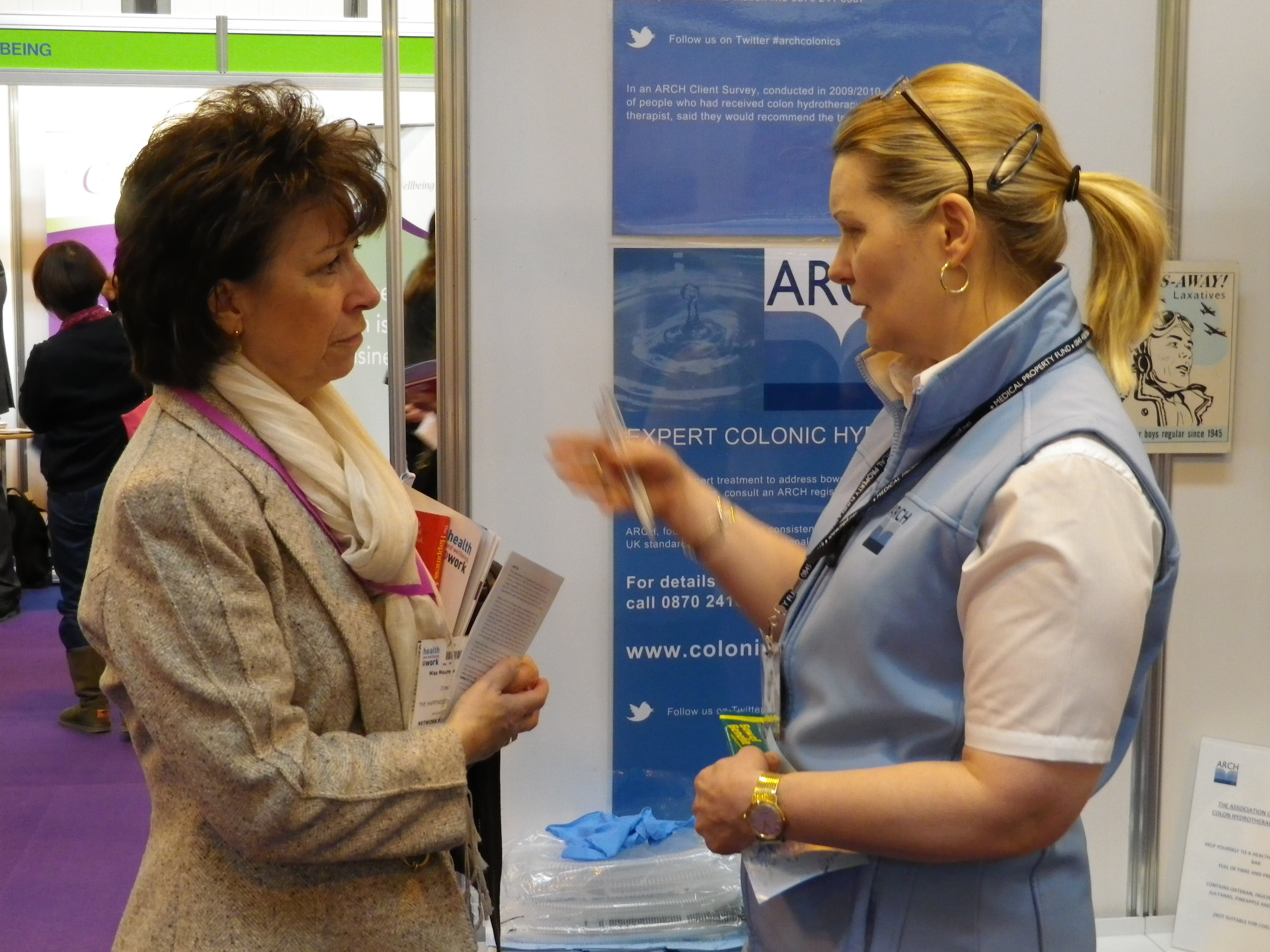 Discussing the merits of colonic hydrotherapy treatment