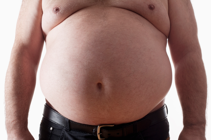 how to tell if you are fat or bloated