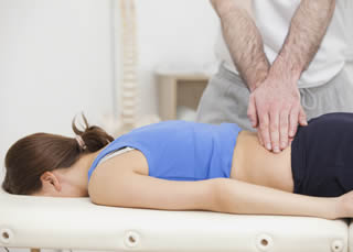 Physiotherapy back manipulation